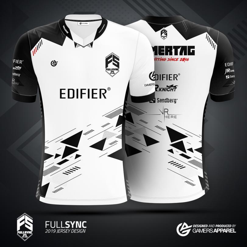 FULLSYNC Esports Jersey in the gamers apparel merch store