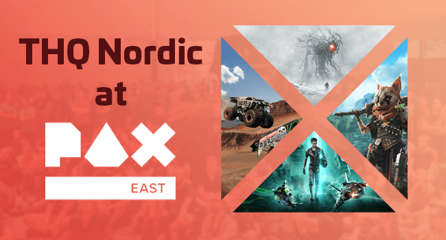 THQ Nordic at PAX East logo