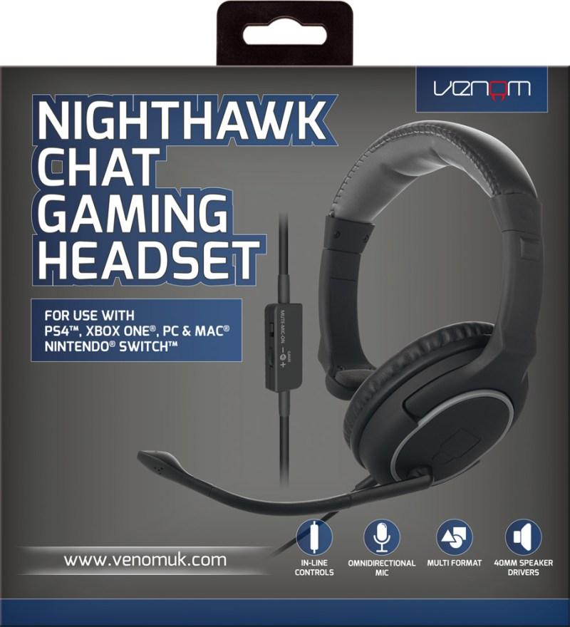 Nighthawk Chat Headset boxed
