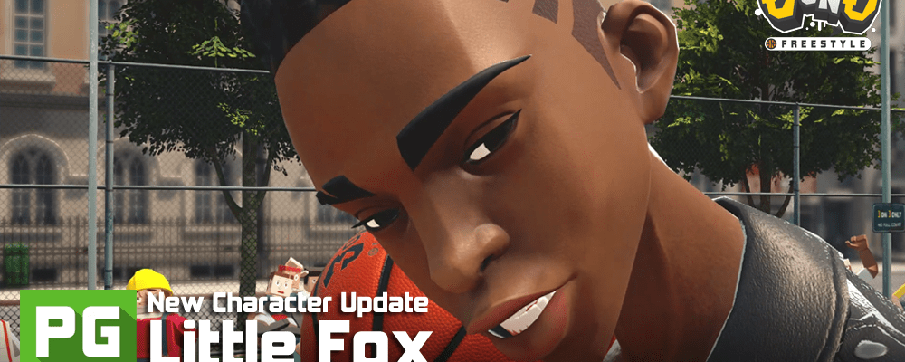 3on3 FreeStyle Little Fox New Character