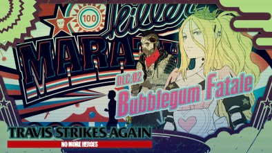 Travis Strikes Again No More Heroes Bubblegum Fatale logo