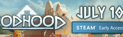 Godhood Launch banner