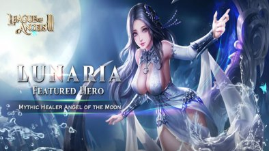Lunaria from League of Angels III