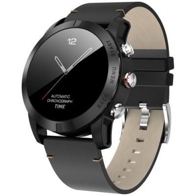 DT No.I S10 Smartwatch black strap