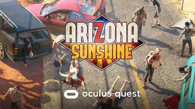 Arizona Sunshine Oculus Quest logo