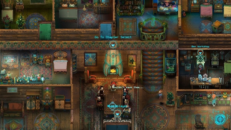 Children of Morta gameplay