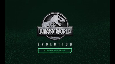Jurassic World Evolution Claire's Sanctuary logo