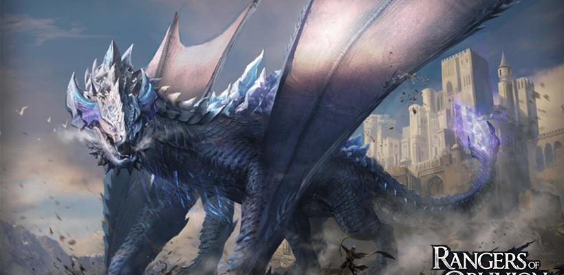 Rangers of Oblivion new Hunt Mode Primal Invasion, showing the behemoth monster Drauga