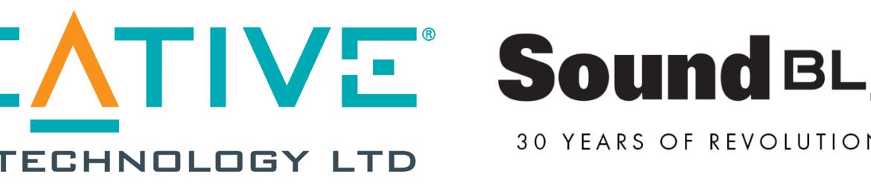 Creative Sound Blaster 30 Years logo