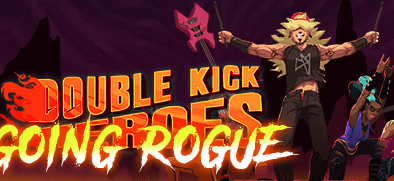 Double Kick Heroes Going Rogue logo