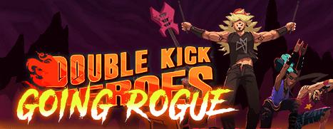Double Kick Heroes Going Rogue logo