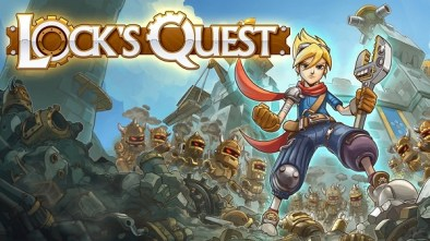 Lock's Quest logo and artwork