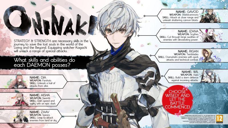 ONINAKI Daemon Infographic