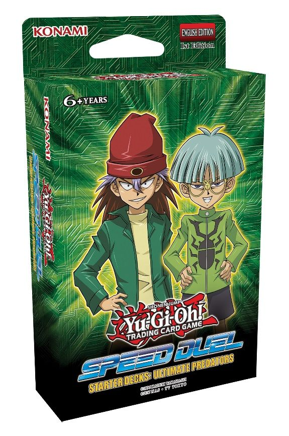 Yu-Gi-Oh! Trading Card Game Speed Duel box