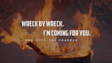 Wreckfest Quote - Sheriff The Crasher