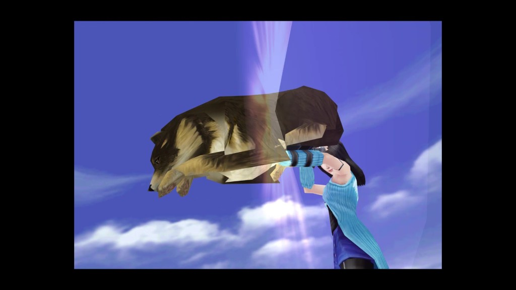 Final Fantasy VIII Remastered International Dog Day Angelo Screenshot 02