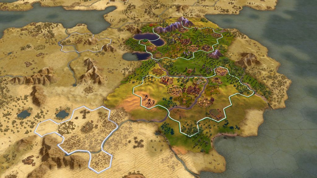 Civilisation VI Console City Planning