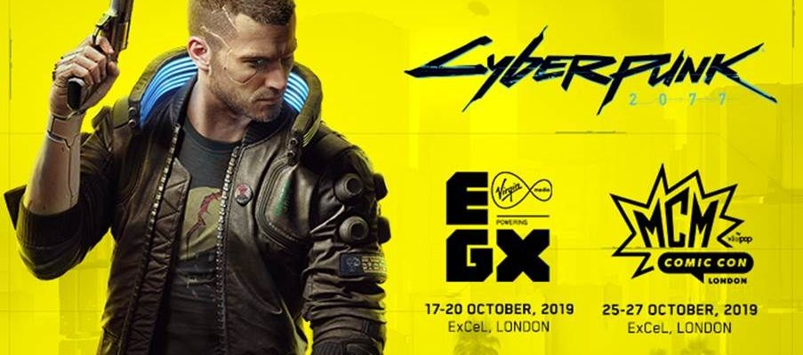 Cyberpunk 2077 at EGX and MCM Comic Con London