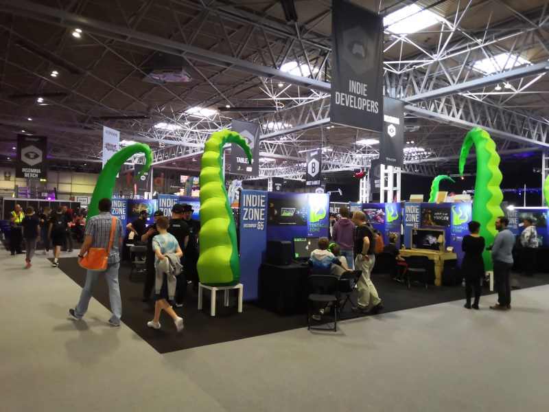 Indie Section at Insomnia 65