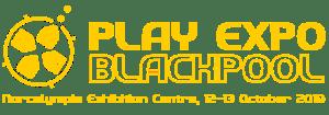 PLAY Expo Blackpool logo 2019
