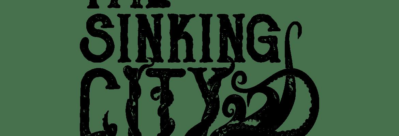 The sinking city logo