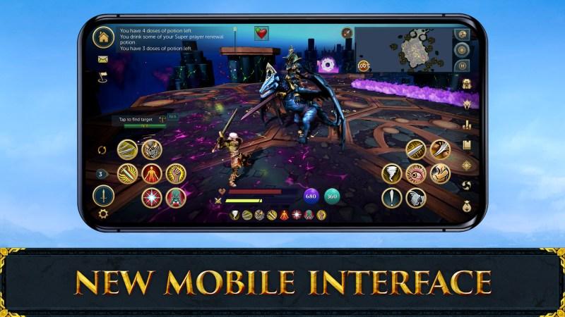 RuneScape Mobile UI