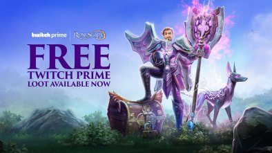 Free Twitch Prime loot available now for RuneScape