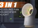 Xiaomi Youpin 3-in-1 Mini Cooling Fan features
