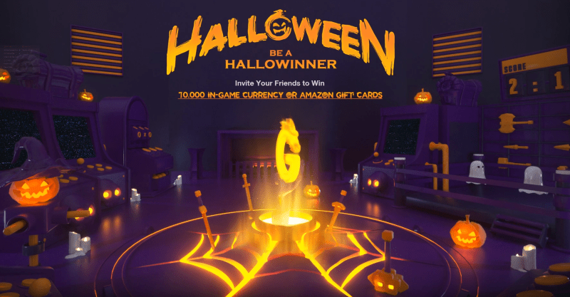 GTarcade Halloween Event artwork