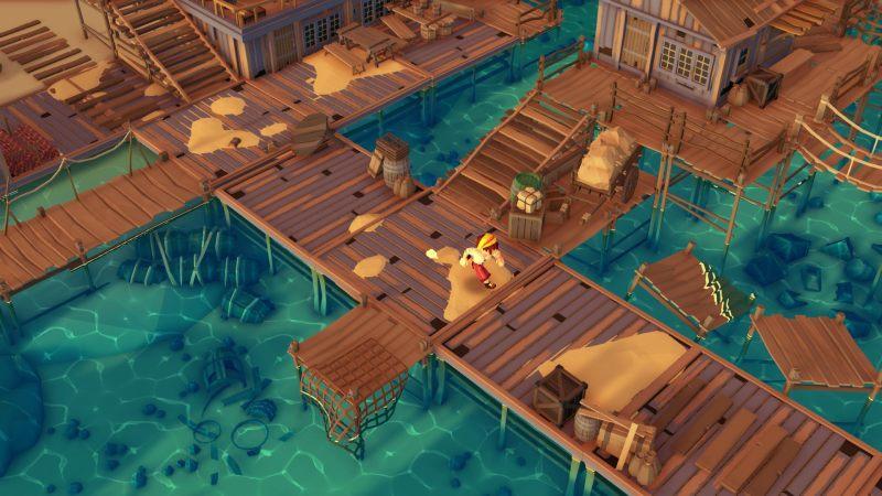 Stranded Sails gameplay