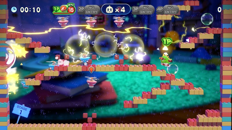 Bubble Bobble 4 Friends gameplay screenshot