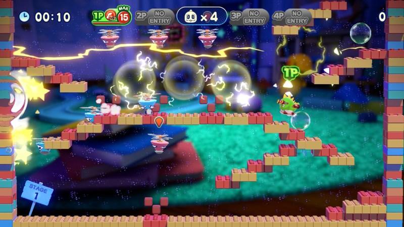 Bubble Bobble 4 Friends gameplay screenshot