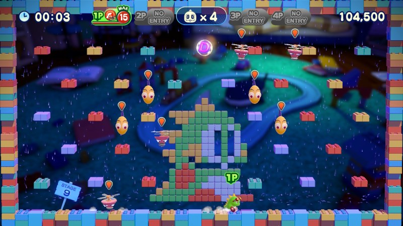 Bubble Bobble 4 Friends screenshot of gameplay