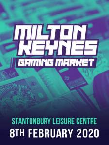 Replay Events Milton Keynes Gaming Market poster for 2020