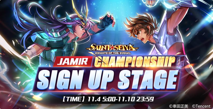 Saint Seiya Awakening: Knights of the Zodiac Jamir Championship