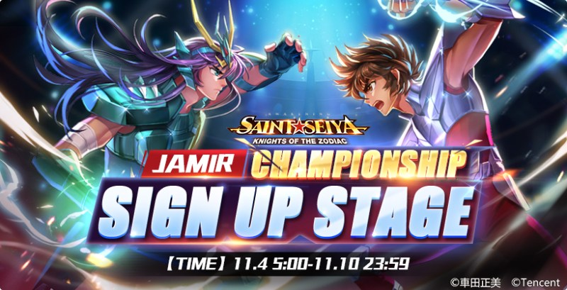 Saint Seiya Awakening: Knights of the Zodiac Jamir Championship