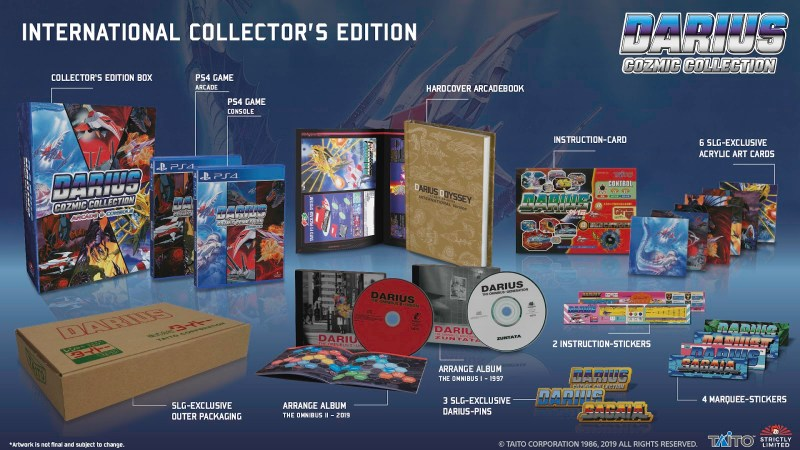 Strictly Limited Games PS4 Version of Darius Cozmic Collection