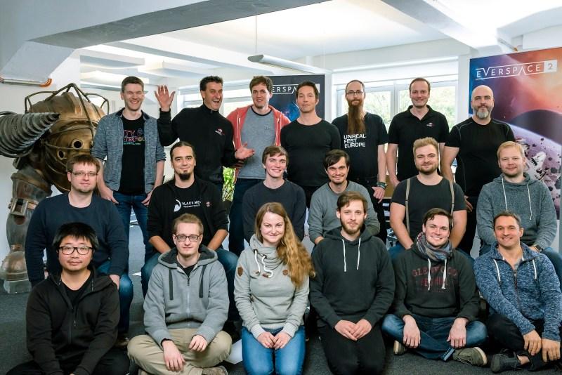 Kickstarter ROCKFISH Games Team Photo