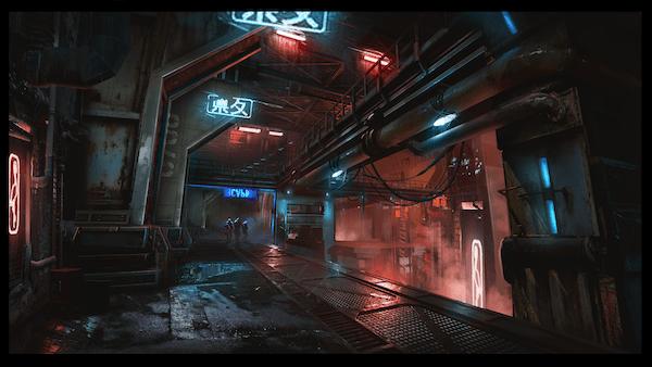 Ghostrunner artwork