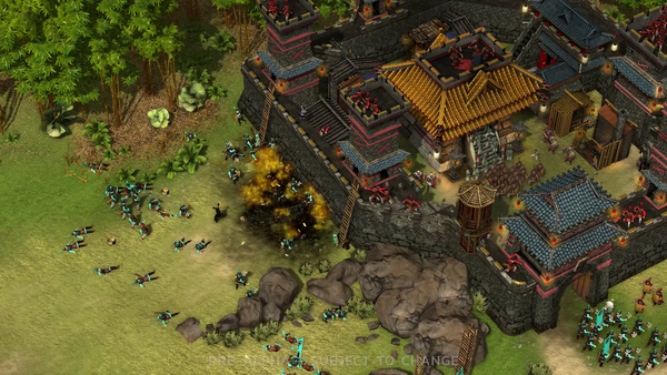 Stronghold: Warlords Unit Classes Gameplay