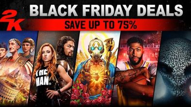 2K Games Blockbuster Deals for Black Friday