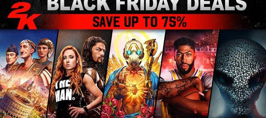 2K Games Blockbuster Deals for Black Friday