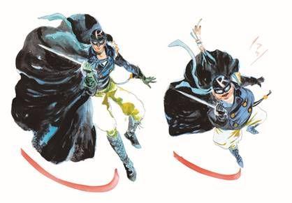 Robin and Pseudo-Robin Masked Crusaders