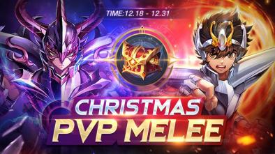Saint Seiya Awakening: Knights of the Zodiac Christmas PVP Melee Banner