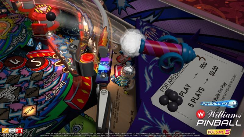 Pinball FX3 Williams Pinball: Volume 5 gameplay