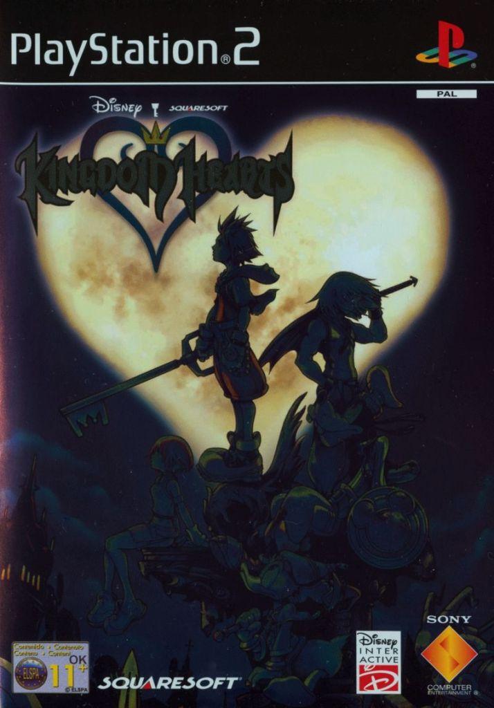 Kingdom Hearts PS2 Box Cover