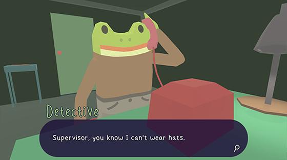 The Frog Detecitve 2 gameplay cutscene