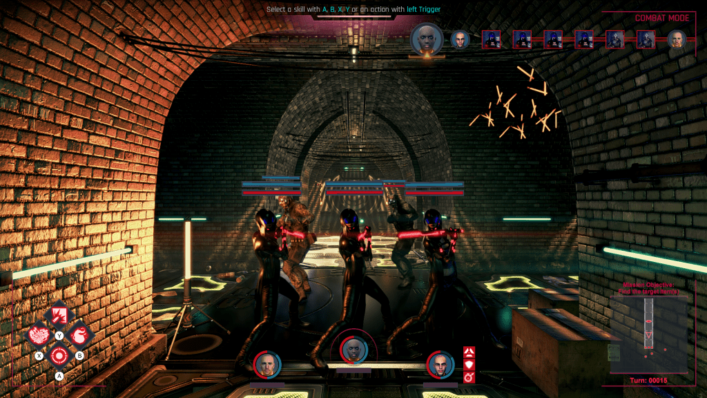 Conglomerate 451 screenshot during battle