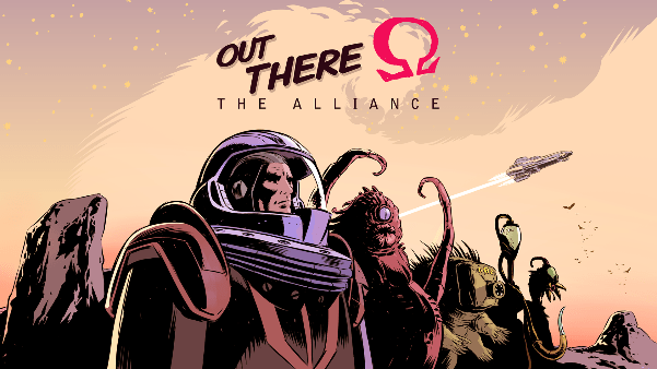 Out There The Alliance logo and artwork