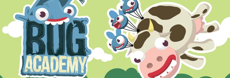 Bug Academy logo and artwork